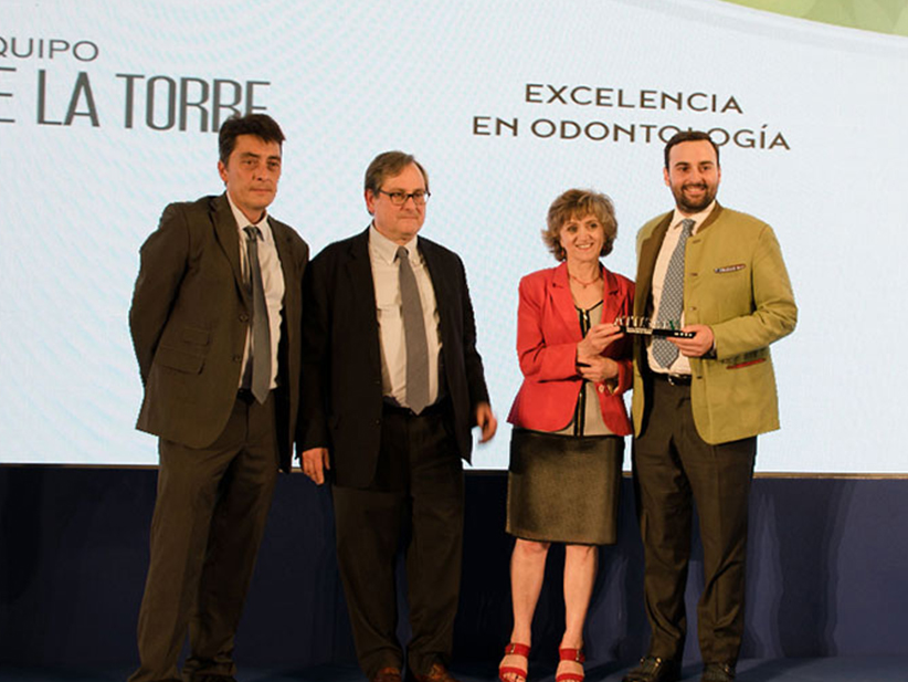 Premio a la excelencia a Unidad Avanzada de Salud Bucodental de Equipo de la Torre