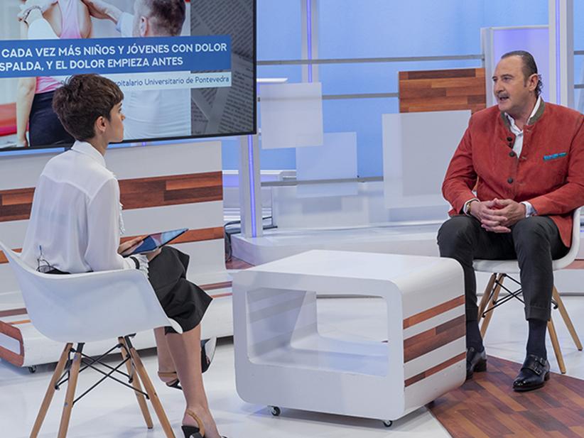 El Doctor Manuel J. de la Torre participa en 'Saber vivir'