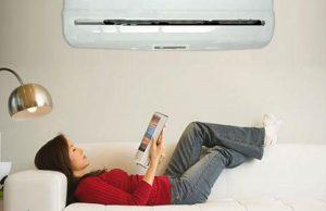 Evitar la exposición directa al chorro de aire acondicionado en el cuerpo