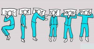 Dormir boca arriba es lo mejor para cuidar la espalda y la columna