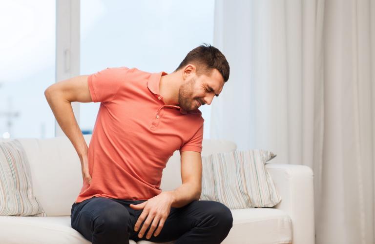 Lesiones de espalda: deshidratación del disco intervertebral